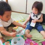 手作りおもちゃとベビーサイン